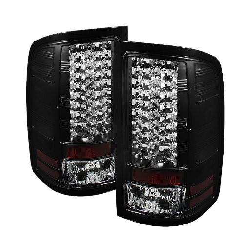 Spyder Auto Alt-Yd-Gs07-Led-Bk Gmc Sierra 1500/2500Hd Black Led Tail Light
