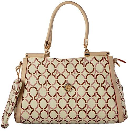 Gouribags PU Handbag (Off-White)