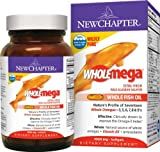 New Chapter Wholemega Fish Oil, 1000mg, 120 Softgels