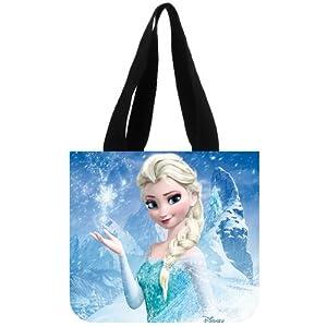 Custom Disney Frozen 3D Film Elsa Tote Bag