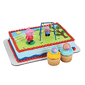 Amazon.com: Peppa Pig Cake Kit and Rings: Toys & Games