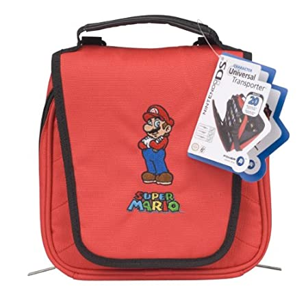 Nintendo Licensed Super Mario Universal Transporter Case - Red