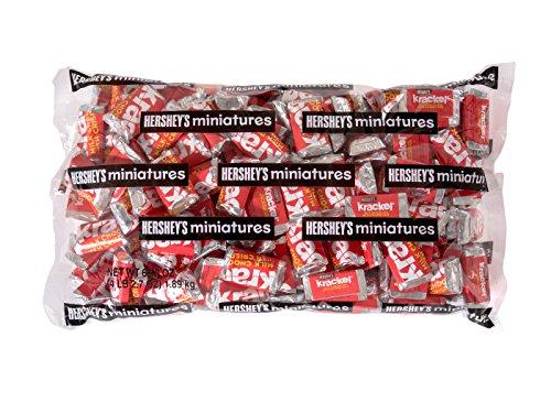 Krackel Chocolate Bar Miniatures, 66.7 Ounce (Krackel Bar compare prices)