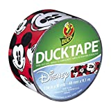 Duck Brand 281967 Disney-Licensed Mickey Mouse Printed Duct Tape, 1.88 Inches x 10 Yards, Single Roll by ShurTech