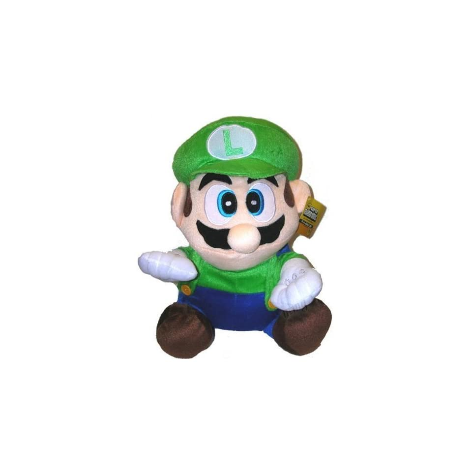 7 Super Mario LUIGI Plush Doll with suction cup