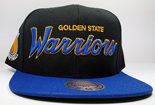 Mitchell & Ness Golden State Warriors Black Vintage Draft Special Script Hat Cap NBA (Nba Jersey Alternative compare prices)