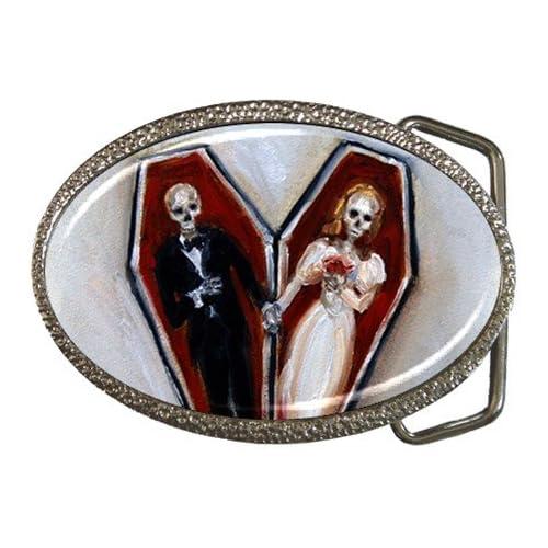 Amazon.com: Limited Edition Nero Corvo Belt Buckle Coffin Love