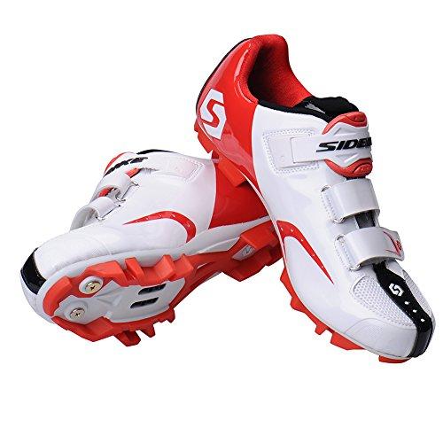 Professional-Scarpe per ciclismo su strada di scarpe per ciclismo in montagna e traspirante, per calzature a pomello, taglia 40-46