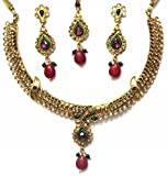 Shingar jewellery polki look necklace for women (1SNT1981)
