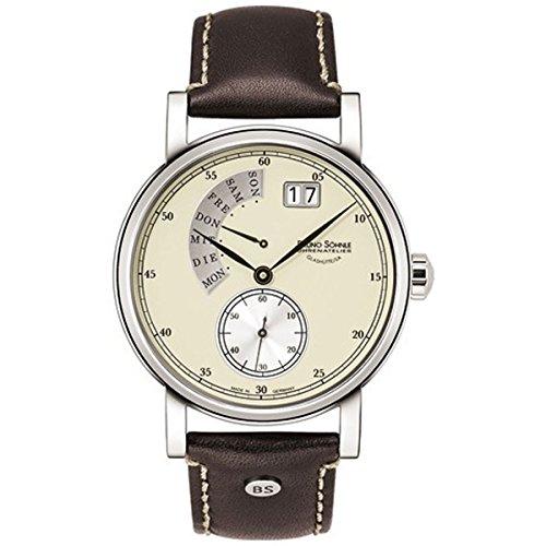 Bruno Soehnle Men's Quartz Watch 17-13073-121 with Leather Strap