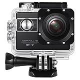 Amir Sport Kamera, Sport Action Kamera, Wasserdicht 2 Zoll 1080P Sport Kamera 170°...