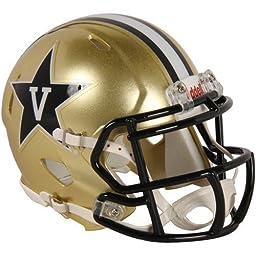 NCAA Vanderbilt Commodores Speed Mini Helmet by Riddell Inc.