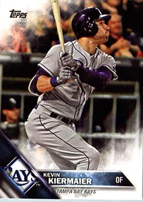 2016 Topps #271 Kevin Kiermaier Tampa Bay Rays Baseball Card