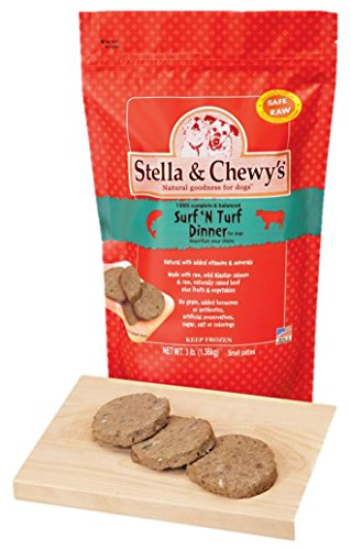 Stella & Chewy's Frozen Surf and Turf Dinner for Dog, 3-Pound_Image1