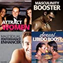 Sexual Hypnosis for Men Bundle: Become a Sizzling Sex God, with Hypnosis  by Hypnosis Live Narrated by Hypnosis Live
