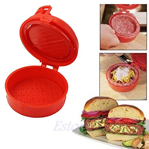 1 Piece Stuffed Burger Press Hamburger Grill BBQ Patty Maker Juicy As Seen On TV Kitchen Cooking Tool