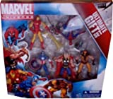 51aVtuIuxBL. SL160  Marvel Universe 3 3/4 Inch Action Figure 5Pack Avengers Ultimate Gift Set SpiderMan, Wolverine, Iron Man, Thor Captain America