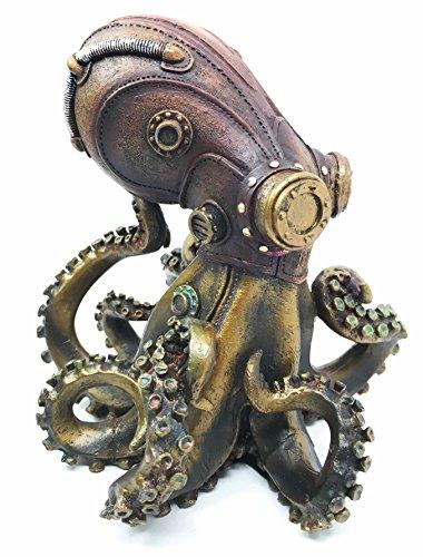 Steampunk Giant Kraken Figurine