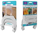 Just Solutions! 2-Pack All Purpose Double Hook Over The Cabinet