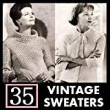 35 Vintage Sweater Knitting Patterns from the 1940's - 1960's. Knit Sweaters, Cardigans, and Jackets. ~ Northern Lights Vintage
