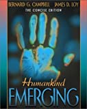 Humankind Emerging Concise Edition (Paperback, 2001)