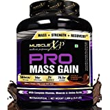 MuscleXP PRO Mass Gainer 2Kg (4.4 Lbs), Double Chocolate - With Whey Protein, Whey Isolate, 24 MultiVitamins &...
