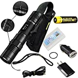 Nitecore MH10 USB Rechargeable Flashlight CREE XM-L2 U2 Portable Torch Waterproof Compact Searchlight With NL183 2300mAh 18650 Battery