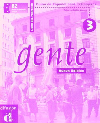 Gente 3, libro del profesor (Spanish Edition)