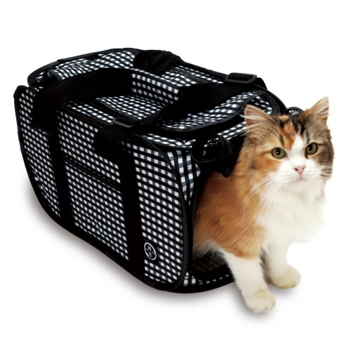 Foldable Ultra Light Cat Carrier with Cat-in-the-net#the best(black)