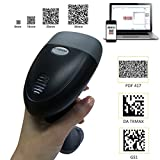 KKMOtech Handheld 2D Imaging QR USB Barcode Scanner CCD Bar Code Reader for Mobile Payment Computer Screen Scanner