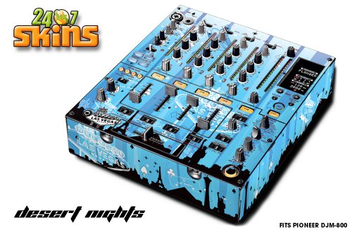 Designer Decal For:Pioneer Djm-800 Pro Dj Mixer-Desert Nights