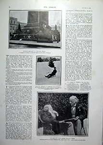 Golf en Amérique et jockeys américains Charles 1900 Blair