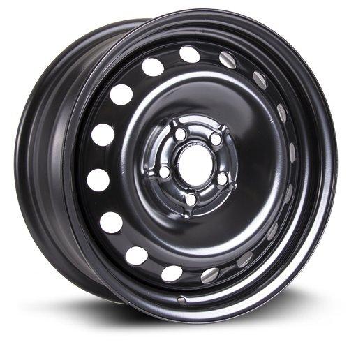 Steel Rim 16X6.5, 5X100, 57.1, +44, black finish (MULTI FITMENT APPLICATION) X99121N (Corolla 2014 Rims compare prices)