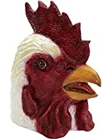 Latex Animal Costume Mask Adult: Rooster