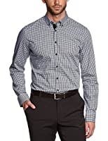 Seidensticker Herren Slim Fit Businesshemd BD PATCH 570968 UNO SUPER