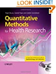 Quantitative Methods for Health Resea...