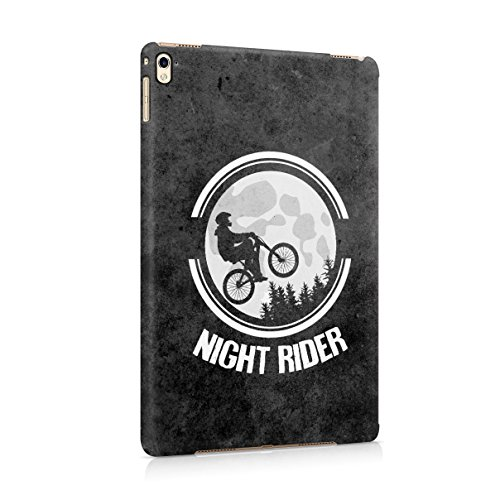 Moon Night Rider Hard Plastic Tablet Case Cover For Apple iPad Pro 9.7