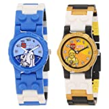 LEGO Kids 9000461 Star Wars R2D2 and C3PO 2-Pack Watch