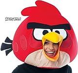 Rovio Angry Birds - Red Angry Bird Mask Rovioの怒っている鳥-レッドアングリーバードマスク♪ハロウィン♪サイズ:One-Size