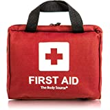 90 Piece Premium First Aid Kit Bag - Includes 2 x Cold (Ice) Packs and Emergency Blanket for Home, Office, Car and Travel