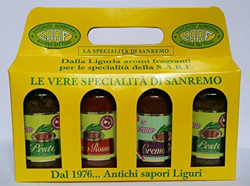 pesto-y-salsas-italianas-Cuarteto-de-sabores-italianos