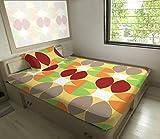 HEMLINES Trendy Flat Single Bed Sheet