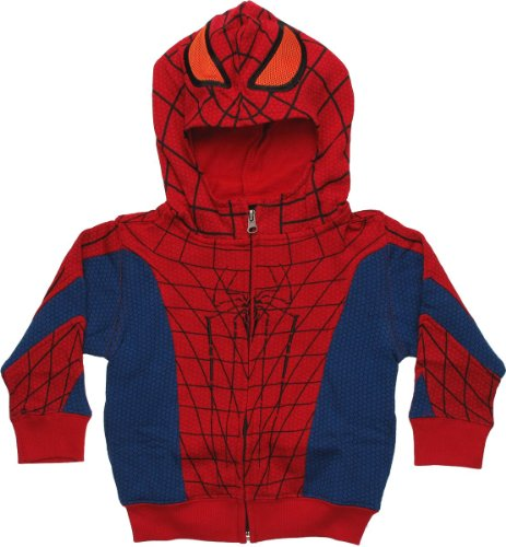 Amazing Spider-Man Costume Toddler Hoodie