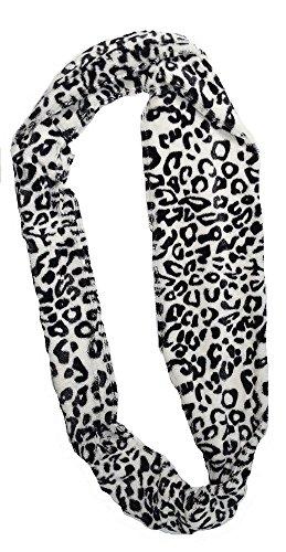 2 pile super morbido in stampa leopardo scaldacollo sciarpe Leopard 2 pezzi confezione regalo