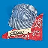 Little Engineer -Hat, Bandana, & Whistle Set