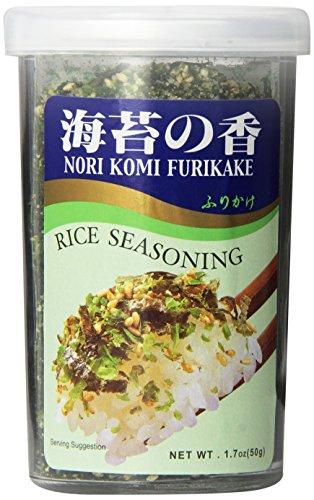 JFC - Nori Komi Furikake (Rice Seasoning) 1.7 Ounce Jar