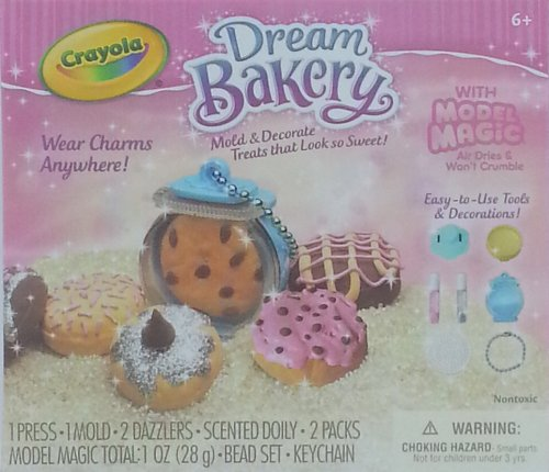 Crayola Dream Bakery with Model Magic - Donuts & Cookies