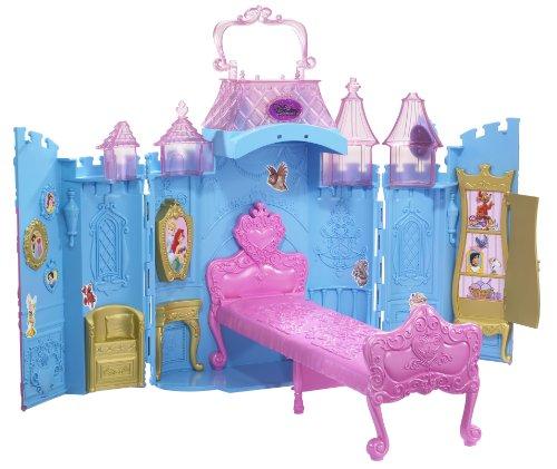 Mattel R4852-0 - Disney Princess Märchenschloss für unterwegs