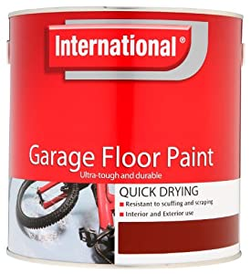 International Garage Floor Paint Smokey Blue