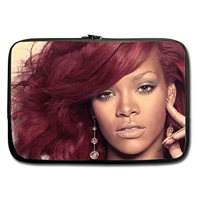 Rihanna Fashion Custom computer Sleeve Laptop sleeve For Macbook Pro 11inch (Twin Sides)